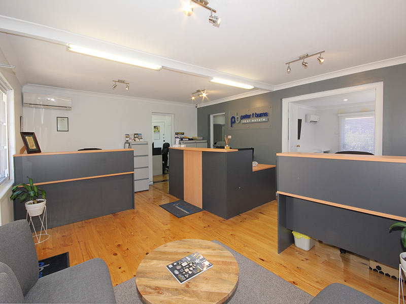 Peter F Burns Office